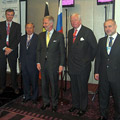 Mission économique en Russie avec le Prince Philippe de Belgique.