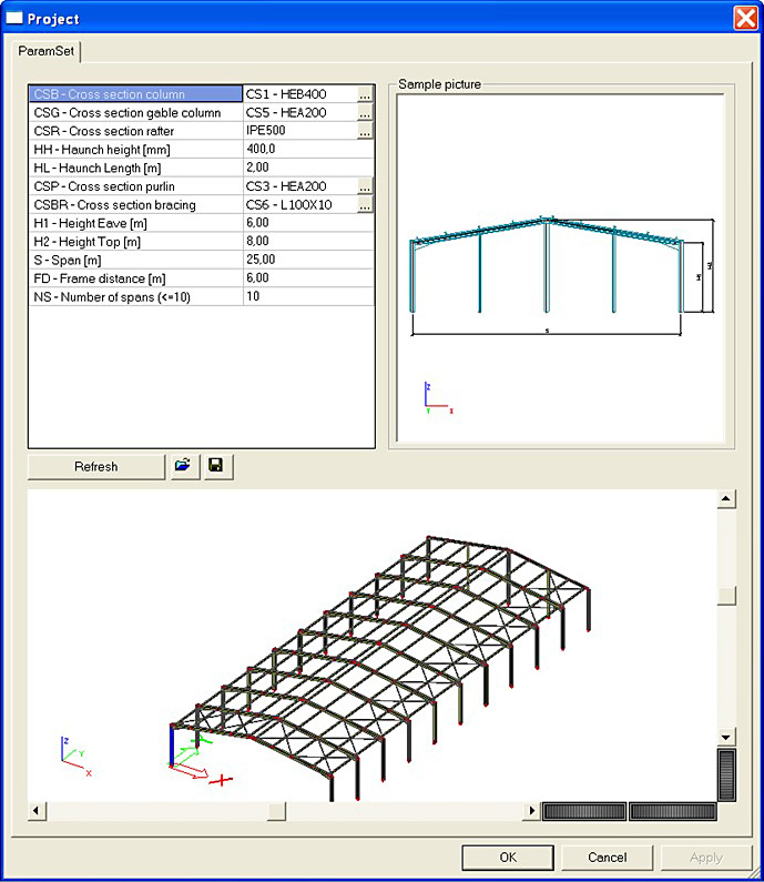 SCIA Engineer Forum • View topic - Parameters in Scia Engineer